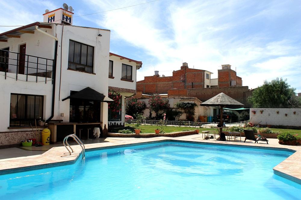 Piscine de l'hôtel Mitru à Tupiza – Bolivie