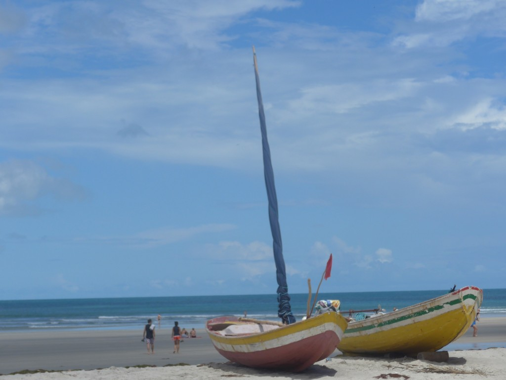 Bateaux à Jericoacoara – Nordeste
