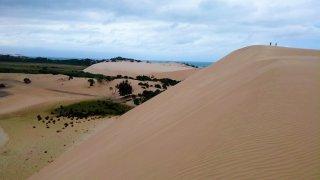 Île de Bazaruto – au milieu coule un désert