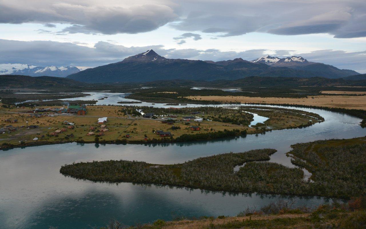 Rio Serrano, Patagonia, Chili