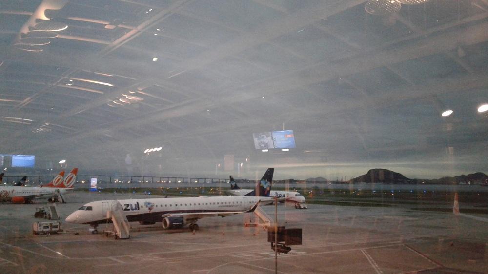 Aéroport de Rio pour le départ vers Cuiaba