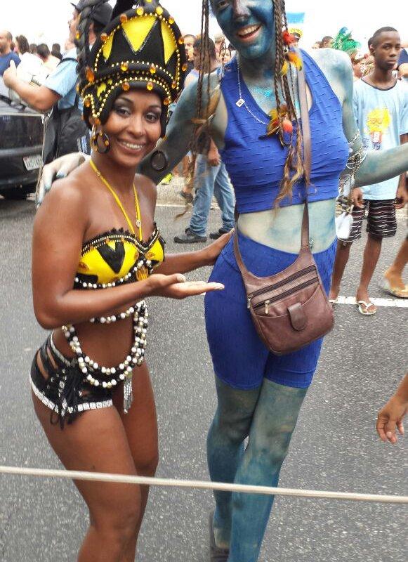 Agathar au Carnaval de Rio