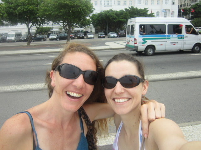 Agathe et Julie au Brésil