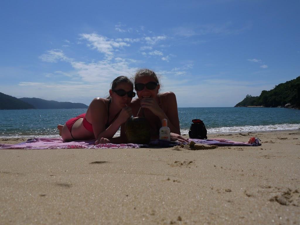 Agua de Coco sur la plage