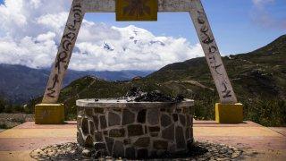 Apacheta, site traditionnel d'offrandes