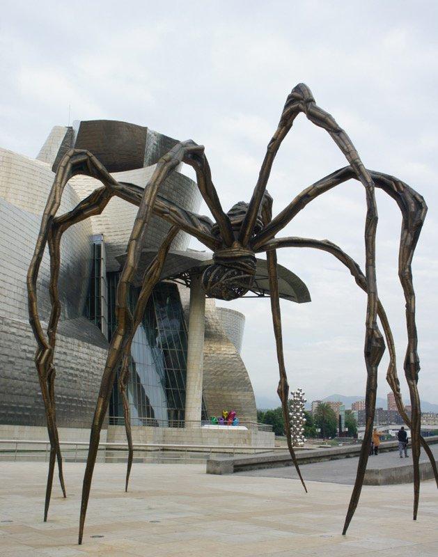 l'Araignée de Louise Bourgeois à Bilbao – voyage en espagne