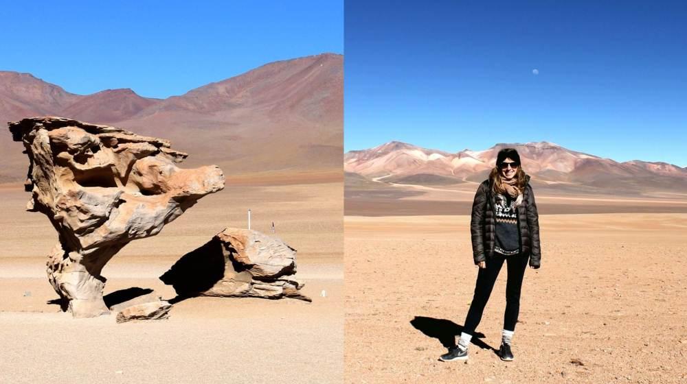 Arbol de Piedra, désert de Siloli – Sud Lipez, Bolivie