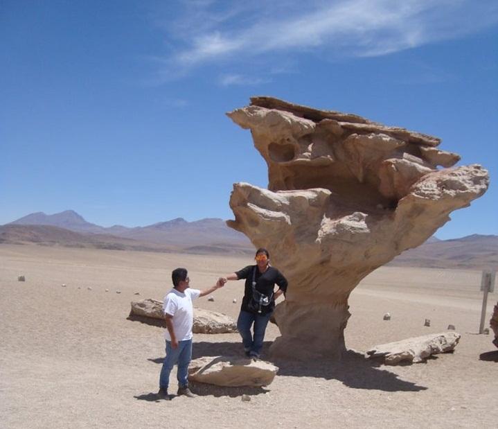 Arbol de piedra – Bolivie