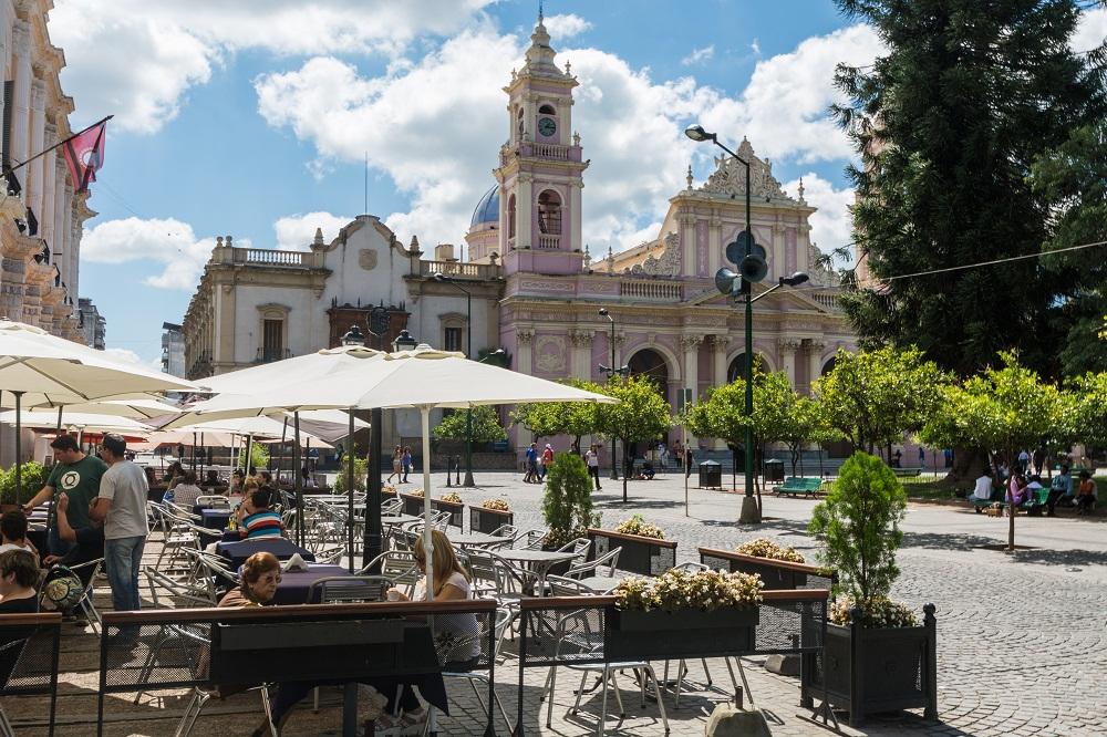 """Centre-ville de Salta """"la linda"""" – Argentine"""
