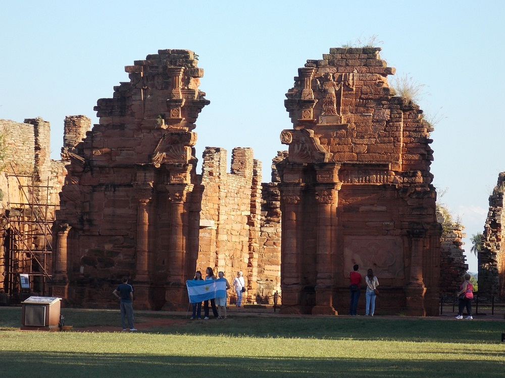 Missions jésuites, ruines de San Ignacio – Misiones, Argentine