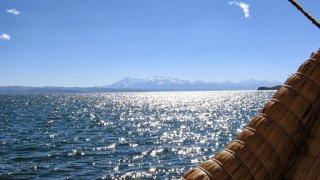 Arrivée à Yumani – Lago Titicaca, Bolivie