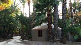 basse californie – yourte (extérieur) – mexique