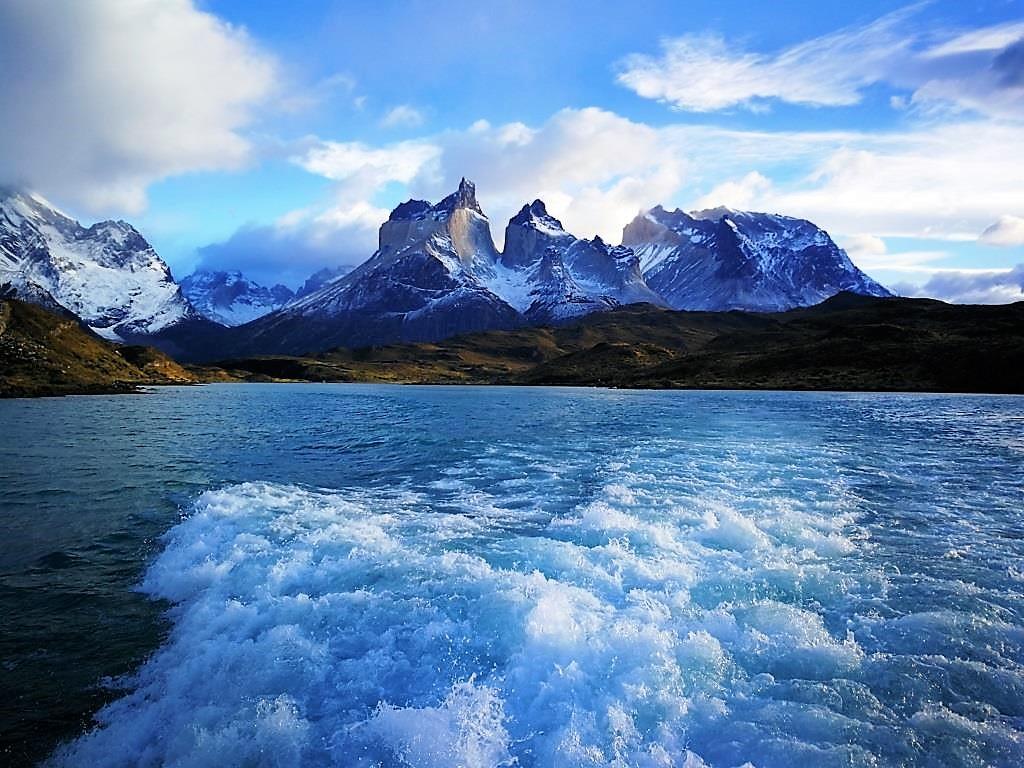 Ferry Lac Pudeto – Torres del Paine, voyage au Chili