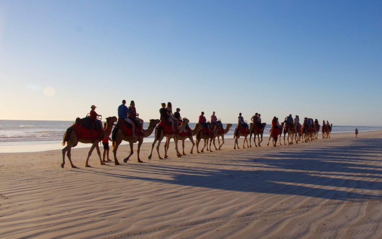 Caravane de Chameaux – Kimberley, voyage australie
