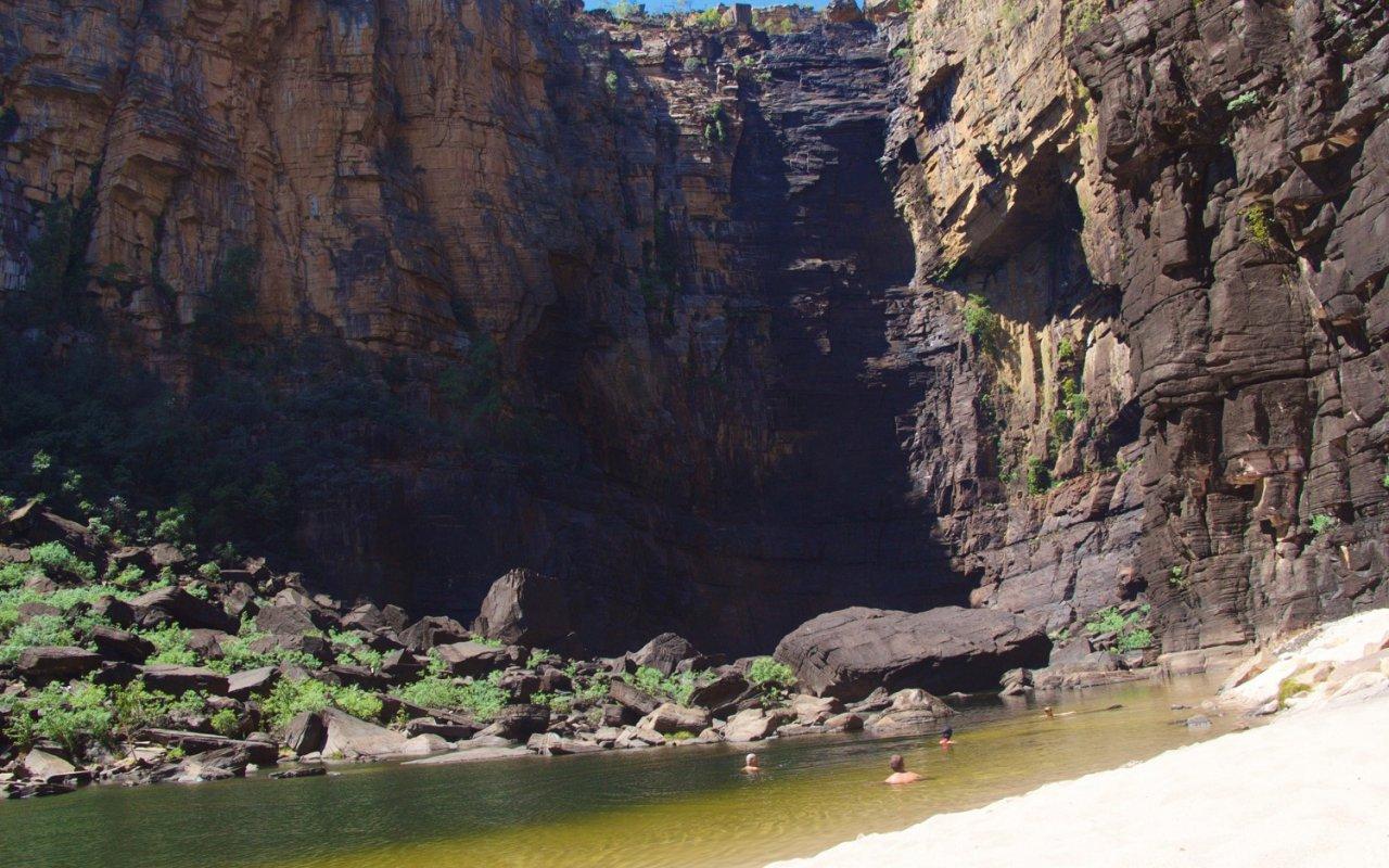 Jim Jim Falls – Kimberley, voyage australie