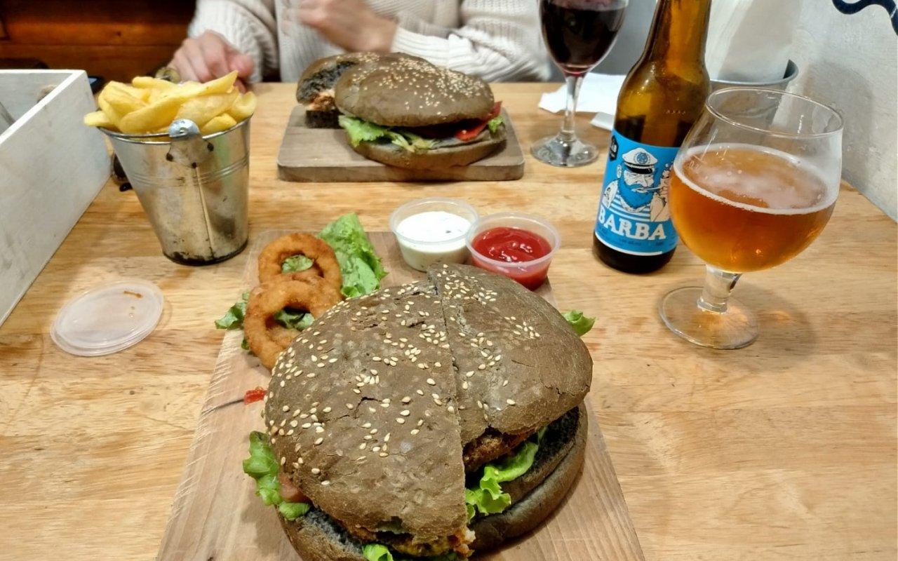 Un burger des plus originaux !
