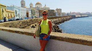 Cadiz et sa cathédrale en front de mer – Andalousie