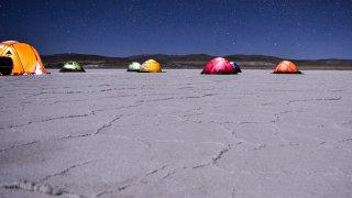 Possibilité de campement – voyage de reco à la Puna argentine / @ ETAventura