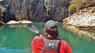 Excursion Kayak dans le Canyon de Furnas au Brésil