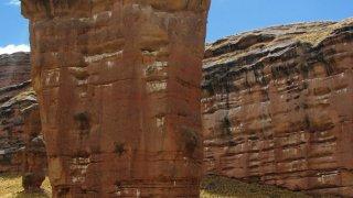 Canyon de Tinajani au Pérou
