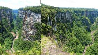 Canyon d'Itaimbezinho – Randonnée du Cotovelo, Brésil