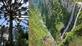 Canyon d'Itaimbezinho – Randonnée du Vertice, Brésil