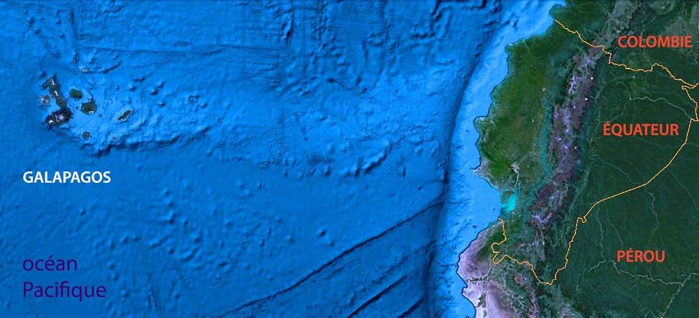 L'archipel au large de l'Equateur