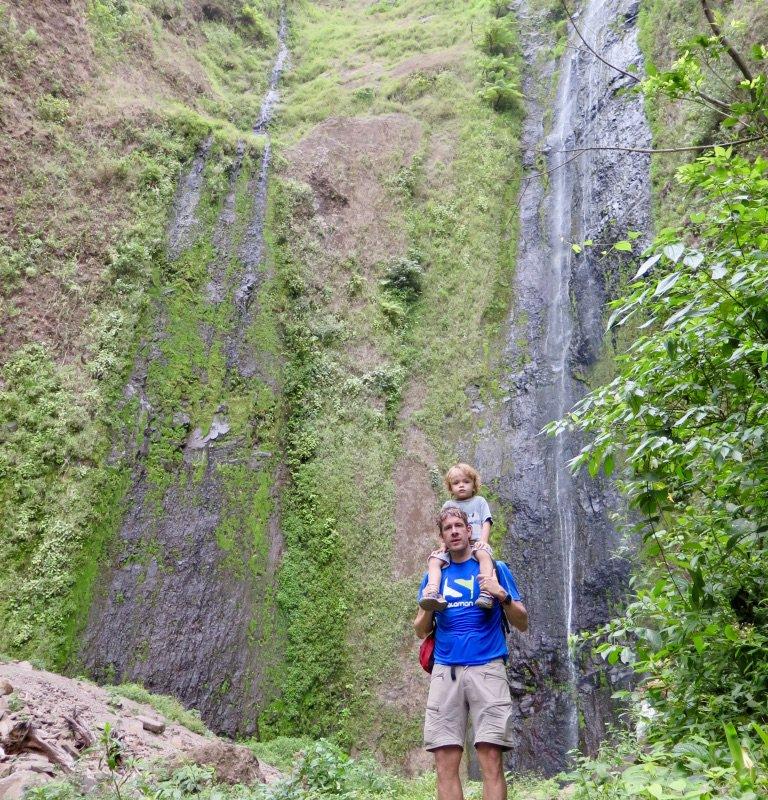 Cascade Sa Ramon, Nicaragua