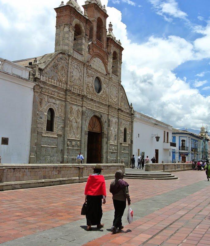 Centre-ville de Riobamba, Equateur