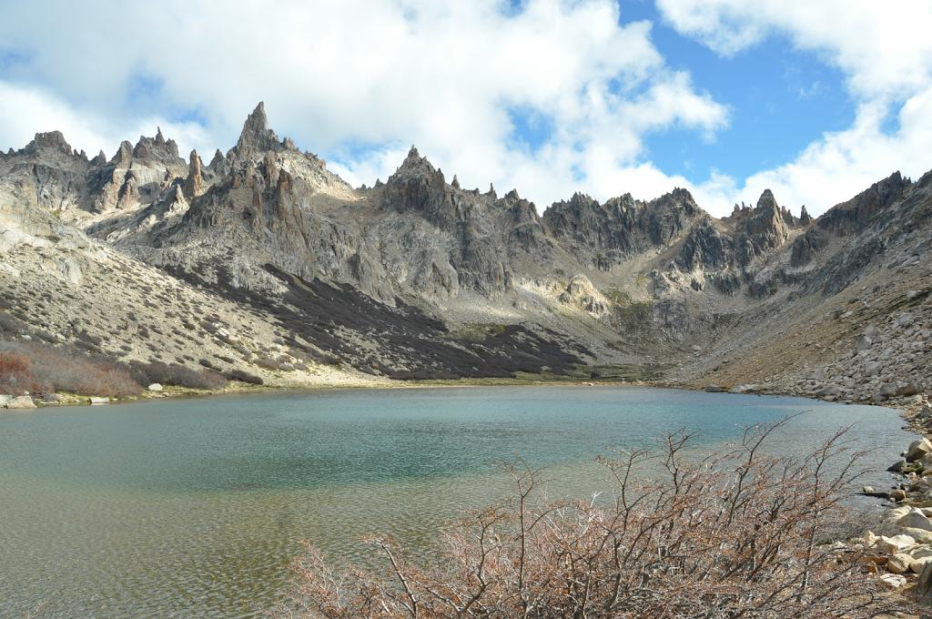 Lagune proche du refuge Emilio Frey Cerro Catedral - Bariloche