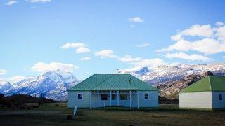 Chalets de style patagon de l'Estancia Cristina – El Calafate, Argentine