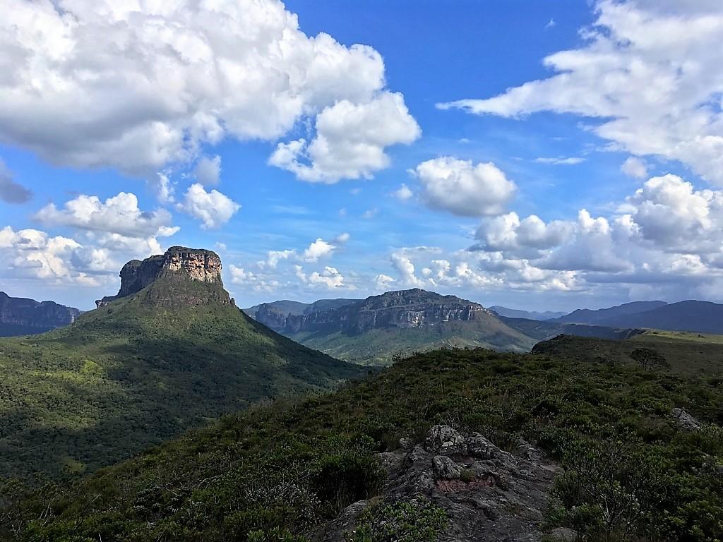 Le Morro Branco et la vallée du Pati