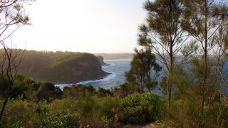 Coastal Bouddi walk, randonnée littoral, Australie