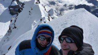 Contents ! Victoire du haut du Condoriri, Bolivie