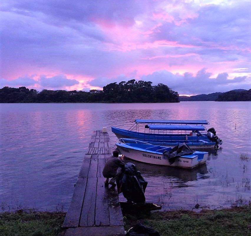 Coucher de soleil Solentiname – voyage au Nicaragua