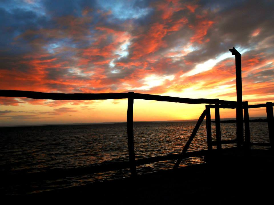Coucher du soleil sur le canal du Mozambique