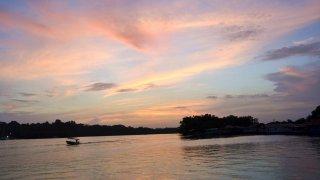 Coucher de soleil à Bocas – Panama