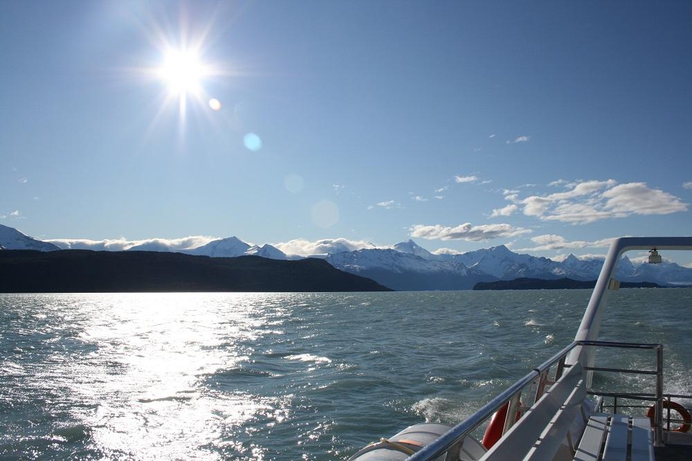 Croisière sur le lac Argentino, retour à El Calafate – Patagonie argentine