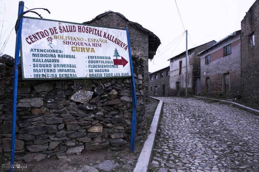 Centre de santé Kallawaya – Cordillère Apolobamba, Bolivie