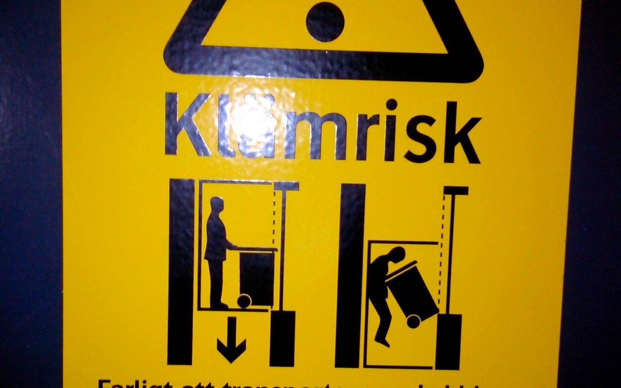Dans l'ascenseur – mission toogo