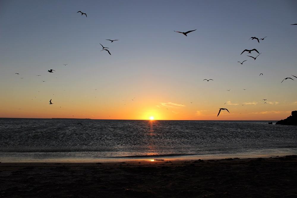 De beaux moments pour finir les journées – La Guajira, Colombie