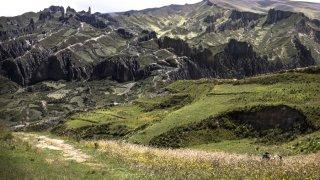 Vue sur la vallée des âmes – La Paz, Bolivie