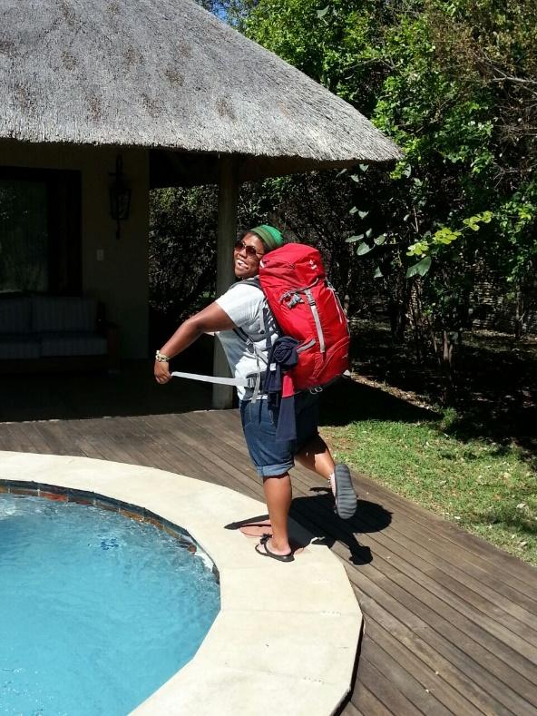 Depart du Savanna Lodge – Afrique du Sud