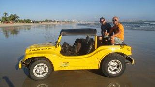 Départ pour l'expédition buggy – Natal