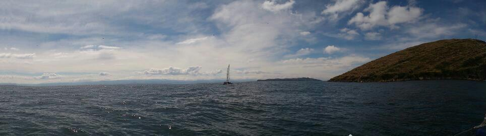 Depuis le catamaran 2 – Lac Titicaca – Bolivie