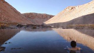 Détente aux Thermes de Juncal – Andes chiliennes