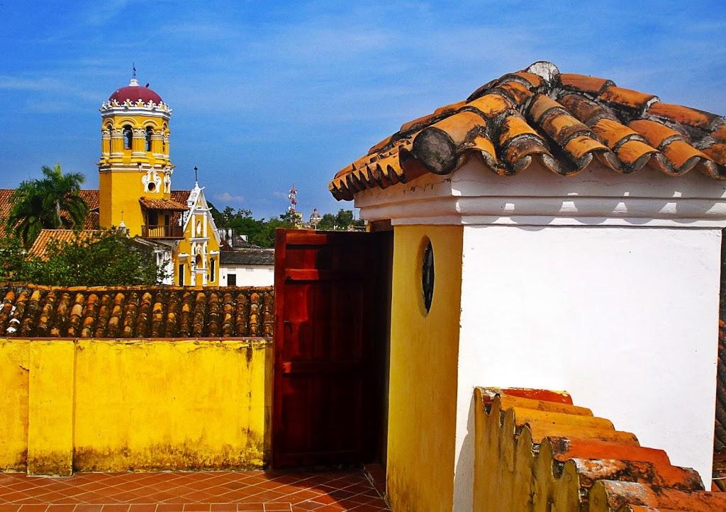 Détente sur la terrasse de la Casa Amarilla – Mompox, Colombie