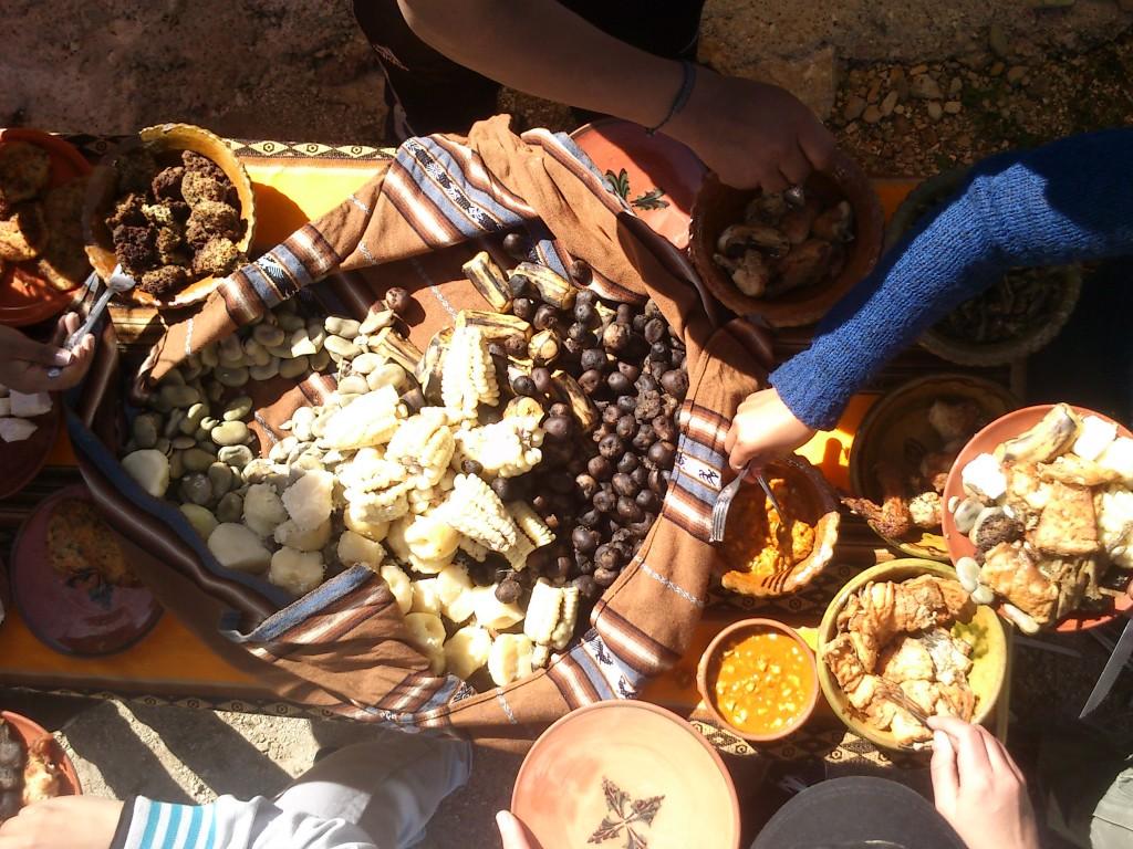 Déjeuner – Île du Soleil – Bolivie