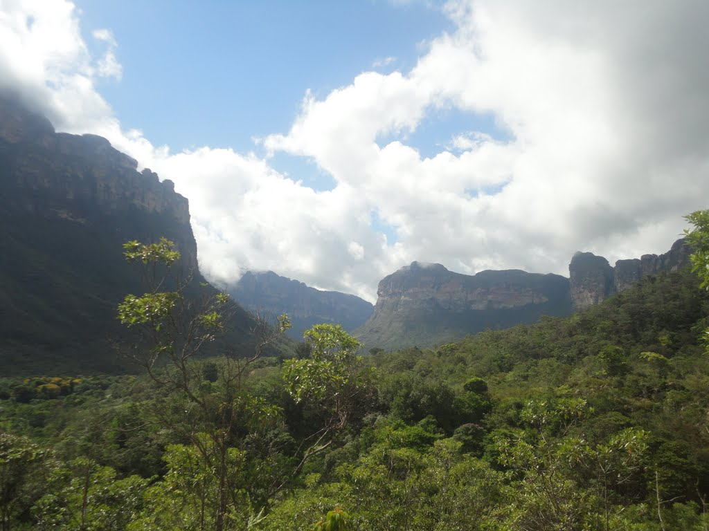 Sortie de la vallée do Pati – Chapada Diamantina