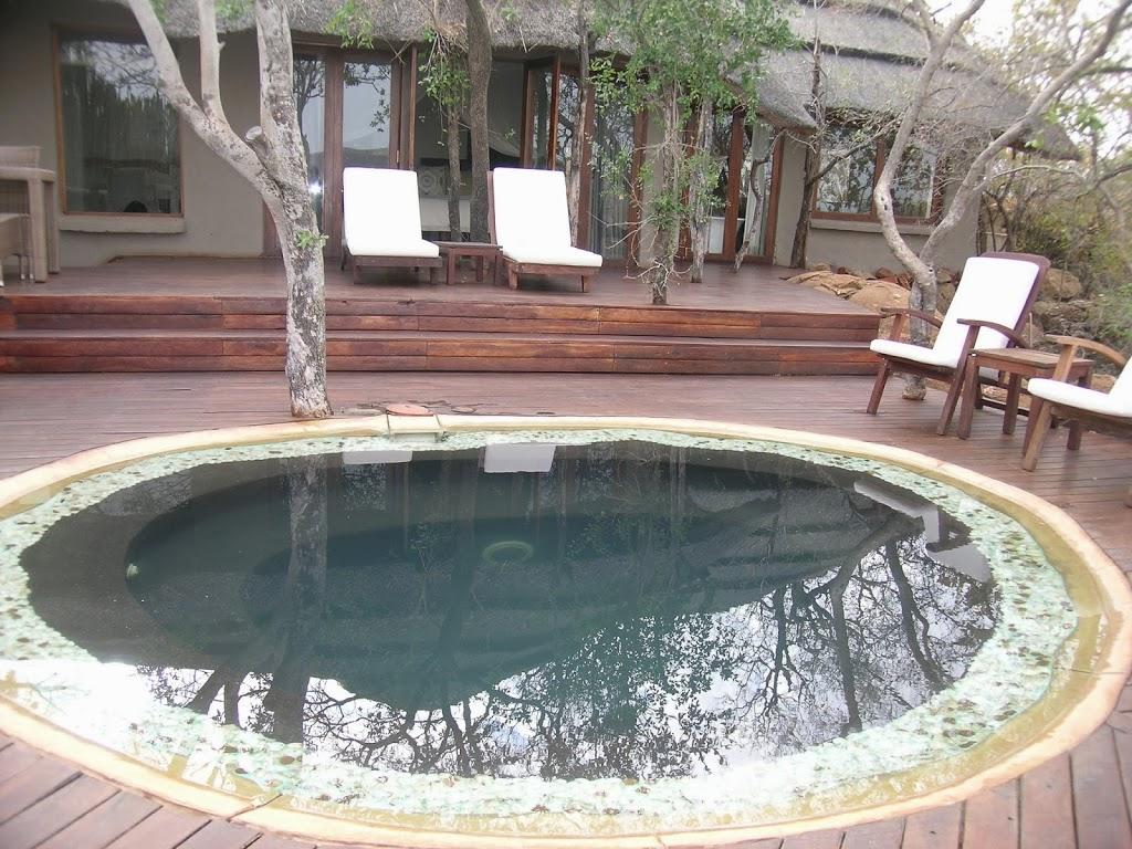 Piscine privée de la suite au Madikwe Hills – Afrique du Sud